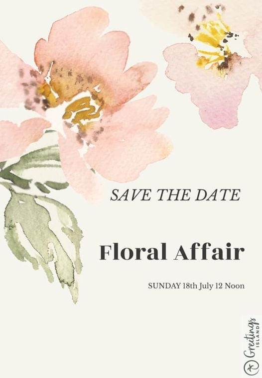 Floral Affair Long Lunch Save the Date